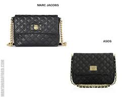Quilted Purse: Marc Jacobs vs Asos &  Adamdwight.com