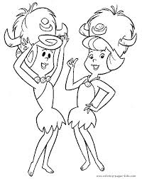 Small Picture 19 best Flintstones Coloring Pages images on Pinterest Coloring