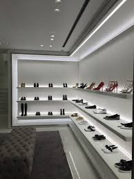 Shoe Store Interior Design Ideas Michael Kors Lucent Lighting In 2020 Shoe Store Design