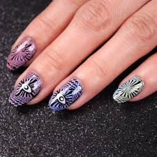 4 Sheet EDM Festival Themed Water Transfer Nail Art Decal Set ...
