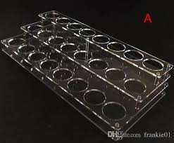 E Liquid Display Stand Acrylic E Liquid Display Stand 100mm Holes For 100ml 100ml 100ml Vape 44