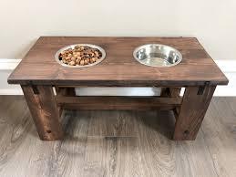 diy dog bowl stand farmhouse dog bowl