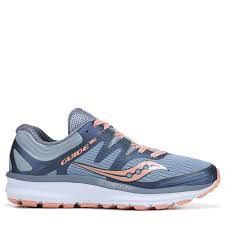 Saucony Pronation Chart Saucony Womens Guide Running Shoes Slate Peach Products