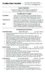 hospitality resume. Sample Hospitality Resume Hotel Career Objective Best Hospitality