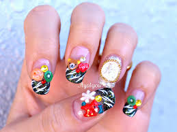 30+ Beautiful Christmas Nail Art designs | EntertainmentMesh