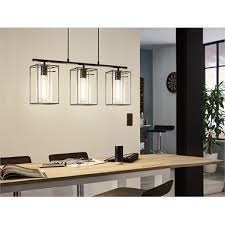 eglo loncino 3 light pendant light