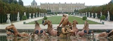 une vue de la faaade ouest. Vue De La Façade Ouest Du Palais Versailles Une Faaade