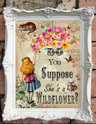 on alice in wonderland framed wall art with alice in wonderland quote art print alice in wonderland