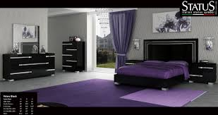 ... Contemporary Ideas Modern Black Bedroom Sets VOLARE ...