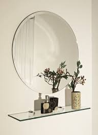 Home Decoration Home Decoration Minimalist Frameless Round Mirror And Hanging