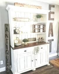 rustic white kitchen ideas. Beautiful White Magnificent White Rustic Kitchen Cute Hutch Combined  With Wooden Table  In Rustic White Kitchen Ideas