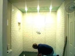 waterproof light for shower lighting led wall lights with bathroom fixture home depot wat