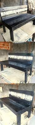 how to make pallet furniture. Pallet Wooden Bench Design How To Make Furniture R