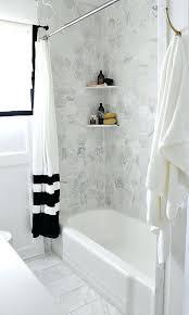 installing tile around bathtub white subway tile in bathtub grey marble hex tiles over the bathtub ceramic tile bathtub surround