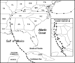 Hurricane Camille And Other Hurricanes Part 1 Maps Charts