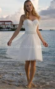 short wedding dresses white knee length dresses