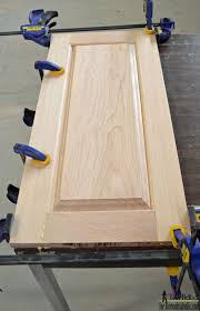 Tools Needed To Build Cabinets Remodelaholic Raised Panel Cabinet Doors