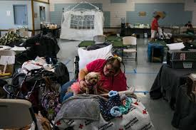 Wine Country Fires In Shelters Evacuees Wait To Go Home