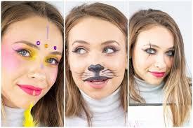 3 easy carnival makeup tutorials mime cat and tribal princess makeup 1 10