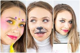 3 easy carnival makeup tutorials mime cat and tribal princess makeup 1 10