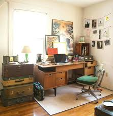 vintage home office. Vintage Home Office Desk. Desk Ideas With Mid Century And Chair Also