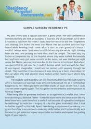 orthopedic surgery personal statement Surgery Residency Personal Statements