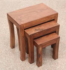 wooden nest tables 2