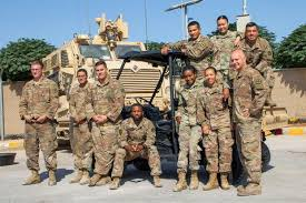 Us Army Cavalry Army Mechanics Deployed To Jordan Trick Out An Atv