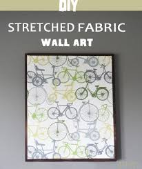 Diy Wall Art Stretched Fabric Wall Art