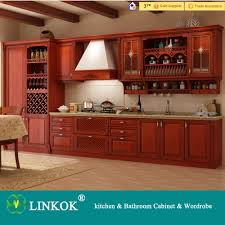 Furniture For Kitchen Cabinets Aliexpresscom Buy Linkok Furniture Dark Brown Solid Wood