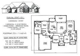 1 1 2 story house plans. 3 Bedroom House Plans 1 2 Story Plan New Sq .