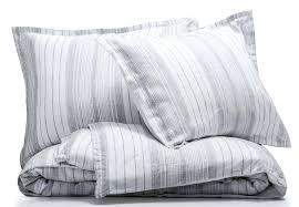 image 0 ticking stripe duvet cover navy french linen