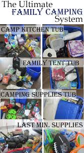 The Ultimate Family Camping List | Camping list, Pack list and ...