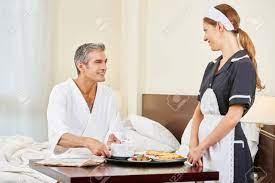 Hotel Room Service Maid