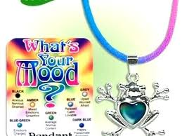 Mood Jewelry Colors And Meanings Mood Necklace Meaning New