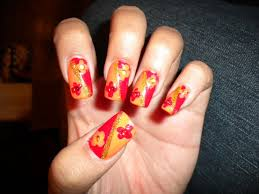 Picture 5 of 10 - Easy Thanksgiving Nail Art Designs Ideas - Photo ...
