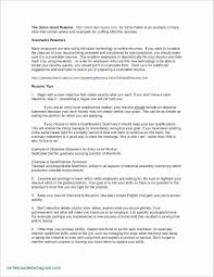 Resume Format For Job Application Abroad Valid Cover Letter For Job