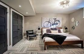 Bedroom Basement With Large Bedroom