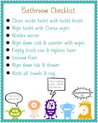 Printable Shower Chart My Favorite Finds Organizing Contributor Free Kids