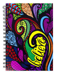 Believe Colored Spiral Notebook Journal 200 Lightly Lined Pages