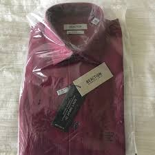 Kenneth Cole Reaction Slim Fit Dress Shirt Nwt
