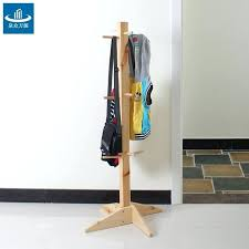 solid wood floor coat rack hanger fashion creative children coat solid wood floor coat rack hanger