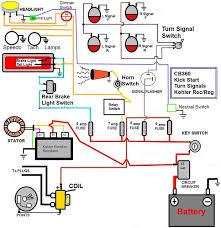basic wiring diagram for car horn wiring diagram for you • caf u00e9 racer wiring bikebrewers com simple 12v horn wiring diagram boat horn wiring diagram