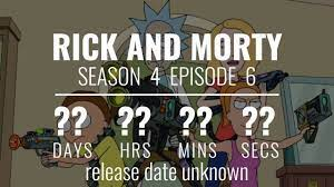 Rick and Morty' Season 4 Live Countdown ...