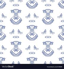Sketching Clothing Clothing Sketching Background Royalty Free Vector Image