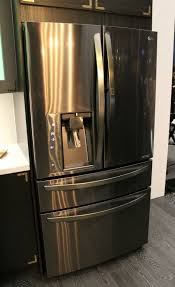 lg refrigerator black stainless. lg launches new black stainless steel series \u0026 limitless design contest! lg refrigerator n