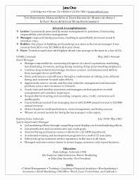 Retail Store Resume Delectable Retail Store Manager Resume Latest Resume For Retail Stores Manager