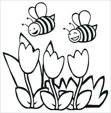 coloring pages for kids flowers.  Pages Flower Coloring Pages Printable Flowers An Flag Color  With Coloring Pages For Kids Flowers A