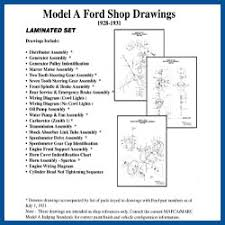 model a ford parts wiring model a ford shop drawings model a ford buy online