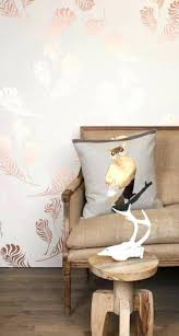 metallic l and stick wallpaper rose gold wall paint astonish best ideas on home beachwood canada